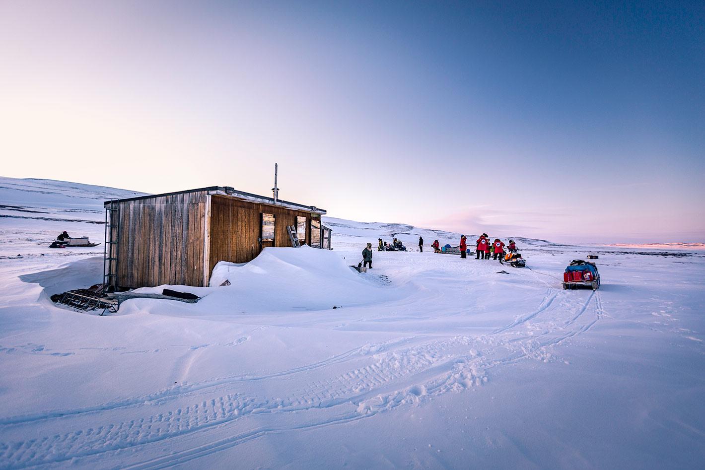 Valentin Pacaut Arctic nighttime